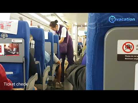 High Speed Train Shanghai China 4K