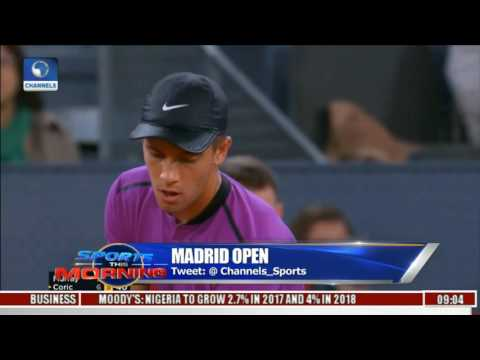 Sports This Morning: Madrid Open Updates As Borna Coric Beats Andy Murray
