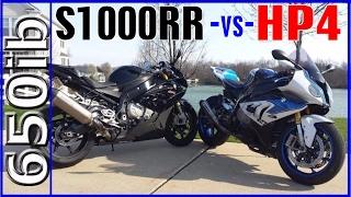 2016 BMW S1000RR vs HP4   Spring SMACKDOWN!!!