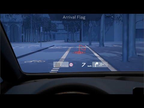 CUPRA Born augmented reality HUD