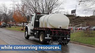 ORNL demonstrates precision approach to de-icing roads
