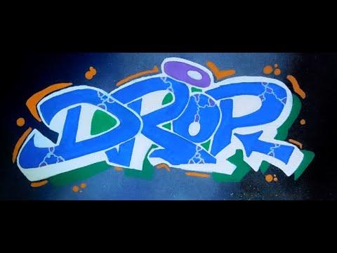 graffiti sur toille la bombe speed drawing fox graffiti drop youtube. Black Bedroom Furniture Sets. Home Design Ideas