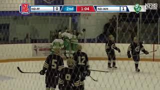 NDWH Hockey vs ND Fairfield 1/24/18