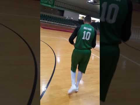 Hassan Makki AHLI Basketball Player - 3 Points Shot