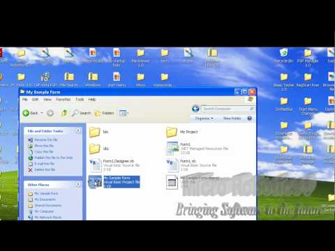 Cara Save Project Visual Basic