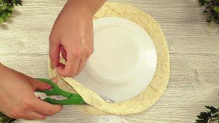 ЛАВАШ станет дефицитом когда вы увидите этот рецепт Завтрак для ленивых за 10 минут