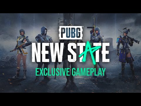PUBG: NEW STATE EXCLUSIVE GAMEPLAY