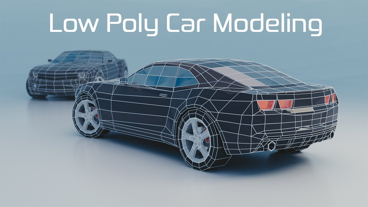 Blender timelapse low poly car modeling youtube blender timelapse low poly car modeling malvernweather Images