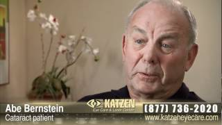 Katzen Eye Care Testimonials - Abe Bernstein - Procedure Duration
