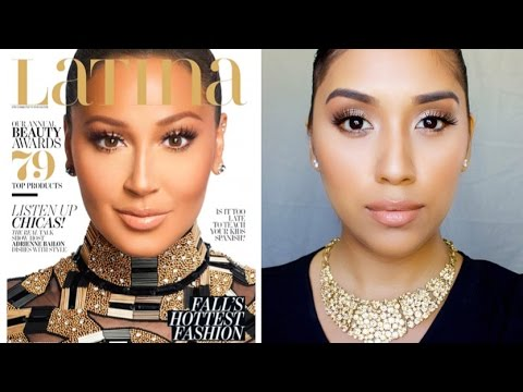 Adrienne Bailon Latina Magazine Makeup Tutorial | Bronze Eye