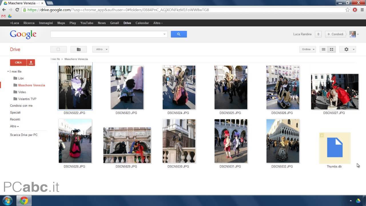 Come condividere file con Google Drive | Salvatore Aranzulla