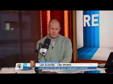 CBS College Basketball Analyst Len Elmore Talks UCLA Basketball - 3/23/17