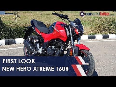 Hero Xtreme 160r First Look Carandbike Youtube