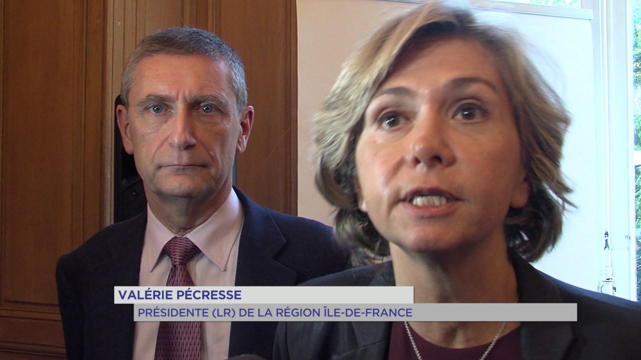 Sécurité : Valérie Pécresse fait le bilan de son action