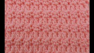 Repeat youtube video Crochet: Variación Punto Arroz