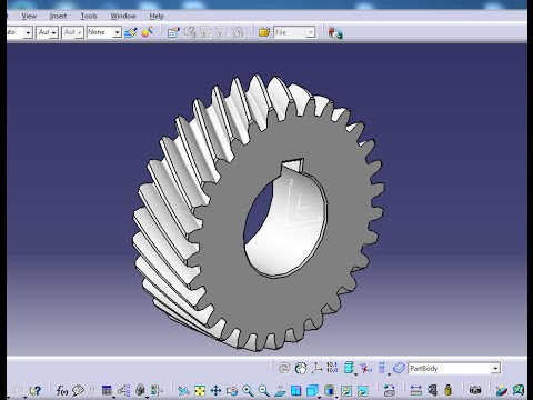 Spur gear design using catia (howto) how to.