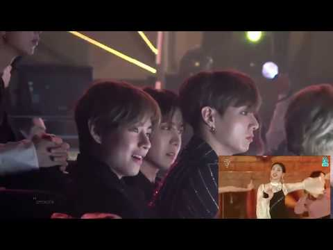 BTS reacting to girl groups (BLACKPINK,TWICE, MOMOLAND, MAMAMOO, REDVELVET..and more)