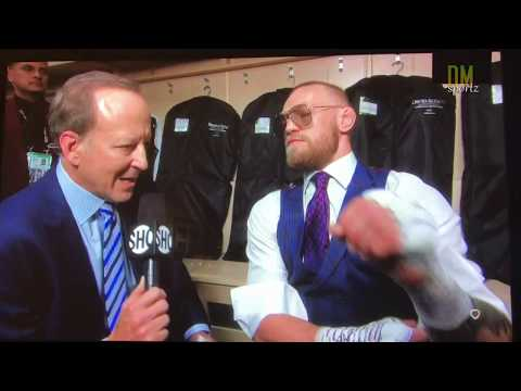 CONOR MCGREGOR EXCLUSIVE INTERVIEW