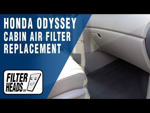How to Replace Cabin Air Filter 2011 Honda Odyssey