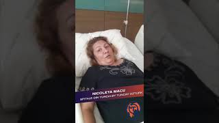 Micșorarea Stomacului:  Testimonial Nicoleta Macu - Spitale Din Turcia by Tuncay Ozturk