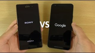 Xperia Z3 Android 6.0 Marshmallow VS Nexus 5X - Which is Fastest?