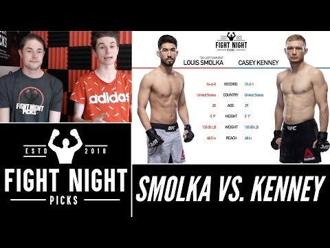 UFC Fight Night: Louis Smolka vs. Casey Kenney 2-Minute Prediction