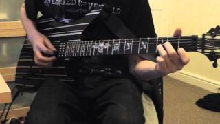 "Avenged Sevenfold - ""Bat Country"" Guitar Cover"