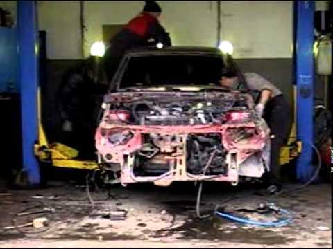 Полноценная разборка автомобиля Daewoo Nexia за 49 минут.