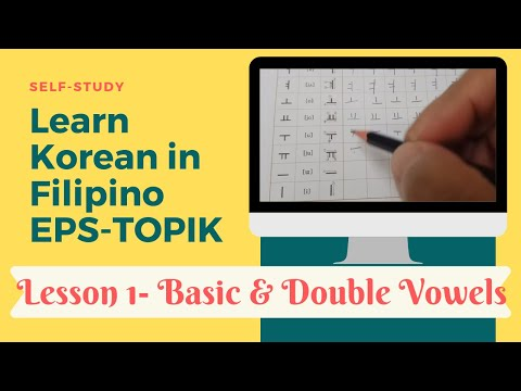 Self-study EPS-TOPIK 1 in Filipino
