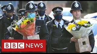 "Suspect ""was in handcuffs"" when he shot dead London policeman - BBC News"