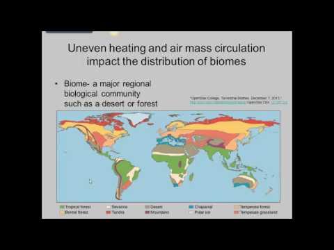 Climate plants