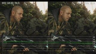 mSI Gaming Laptop Showdown: MSI GE40 vs. MSI GE60 - 1080p Gameplay Frame-Rates