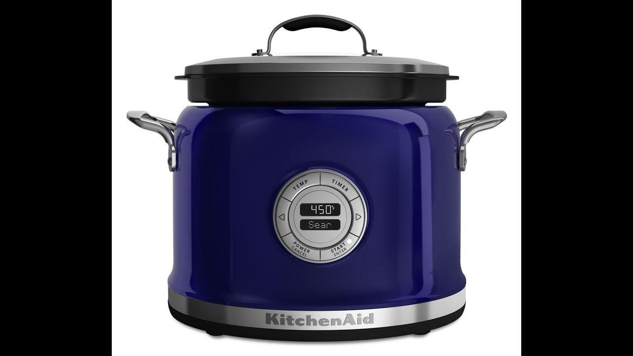 KitchenAid KMC4241BU Multi Cooker   Cobalt Blue