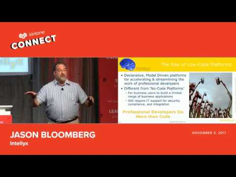 Kintone Connect 2017 Keynote -- Jason Bloomberg