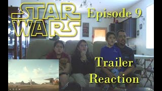 Star Wars episode 9 trailer reaction