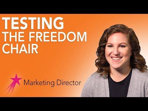 Entrepreneur: Testing the Freedom Chair - Tish Scolnik Career Girls Role Model