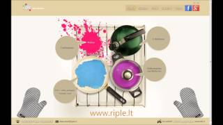 Interneto svetainių kūrimas ir reklama internete(Interneto svetainių ir elektroninių parduotuvių kūrimas, firminis stilius ir reklama internete. Daugiau informacijos:http://www.riple.lt., 2013-11-01T23:49:29.000Z)