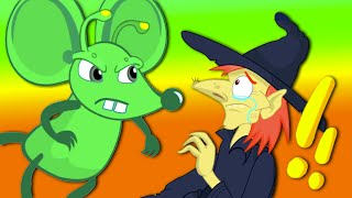 NEW Groovy The Martian HALLOWEEN PART 2 vs EVIL WITCH Full episodes! Cartoon for kids Nursery Rhyme