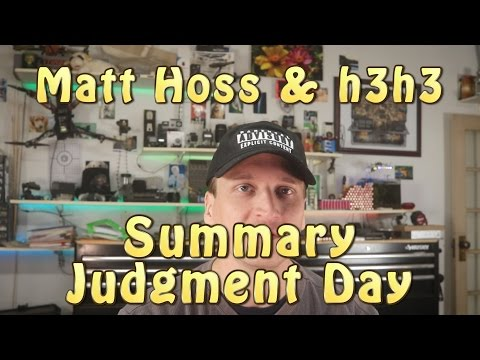 Matt Hoss v. h3h3 lawsuit: Summary Judgment Day