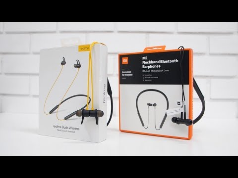 Realme Buds Wireless Vs Mi NeckBand Bluetooth Earphones Which is better?