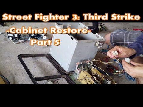 Top Tier Tech - Street Fighter 3: Third Strike - Cabinet Restore - Part 5 [HD]