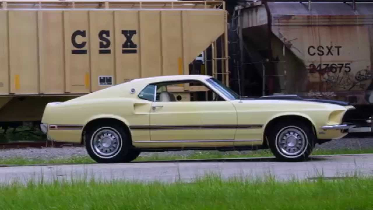 1969 ford mustang mach 1 test drive
