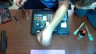 Fujitsu Siemens Esprimo Mobile v5535 - разбираем ноутбук(, 2014-07-19T05:03:15.000Z)