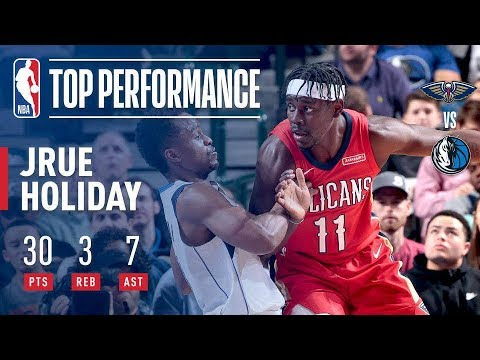Jrue Holiday Drops 30 pts & 7 asts To Lead The Pelicans To Their 8th Straight