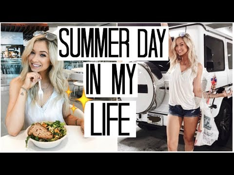 Summer Day in my Life | Fitness Vlog | What I Eat in a Day