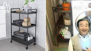 자투리 공간 활용하기 | IKEA NISSAFORS U…