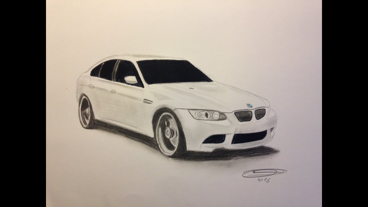 dessin bmw m3 youtube. Black Bedroom Furniture Sets. Home Design Ideas