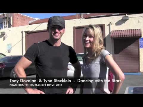 Tony Dovolani and Tyne Stecklein from Dancing with the Stars have a message