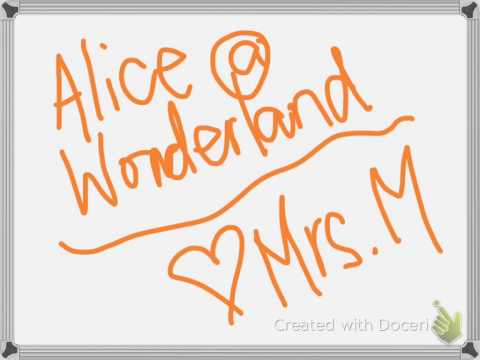 Alice @ Wonderland Music with singers