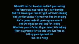 Britt Nicole - The Sun Is Rising (Lyrics HD)